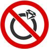 منع استفاده از زیور آلات